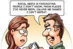 Today's cartoon: Social media